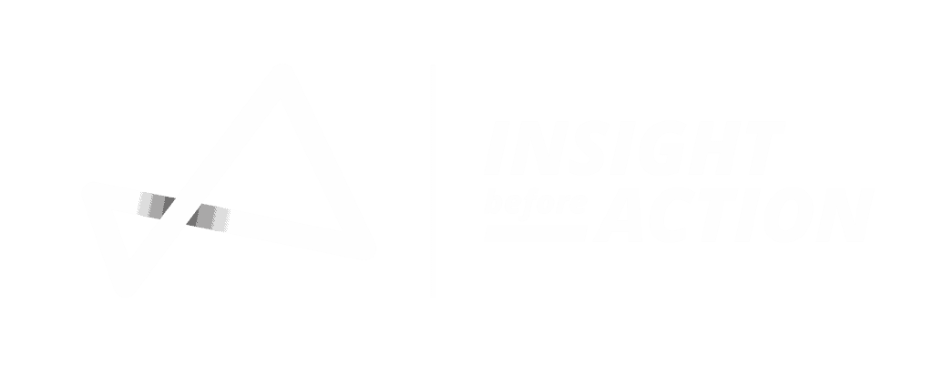 Insight Before Action Main Website Logo in White